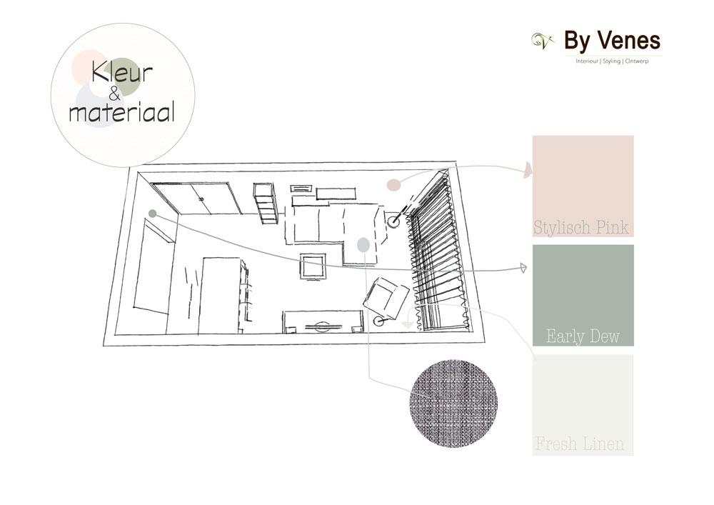 kleuradvies woonkamer