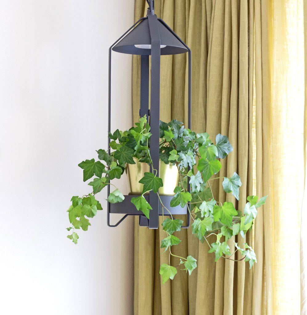 Hanglamp zwart Krydda binnenkweker IKEA