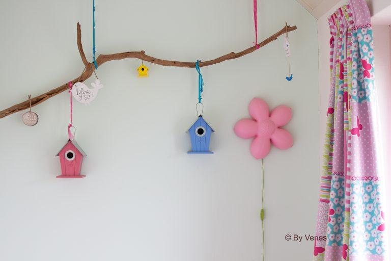 Muurdecoratie Vogelhuisje Kinderkamer