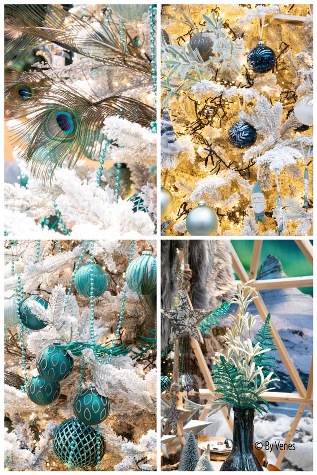 Noorpool kerst Winterwonderland blauwe kleuren