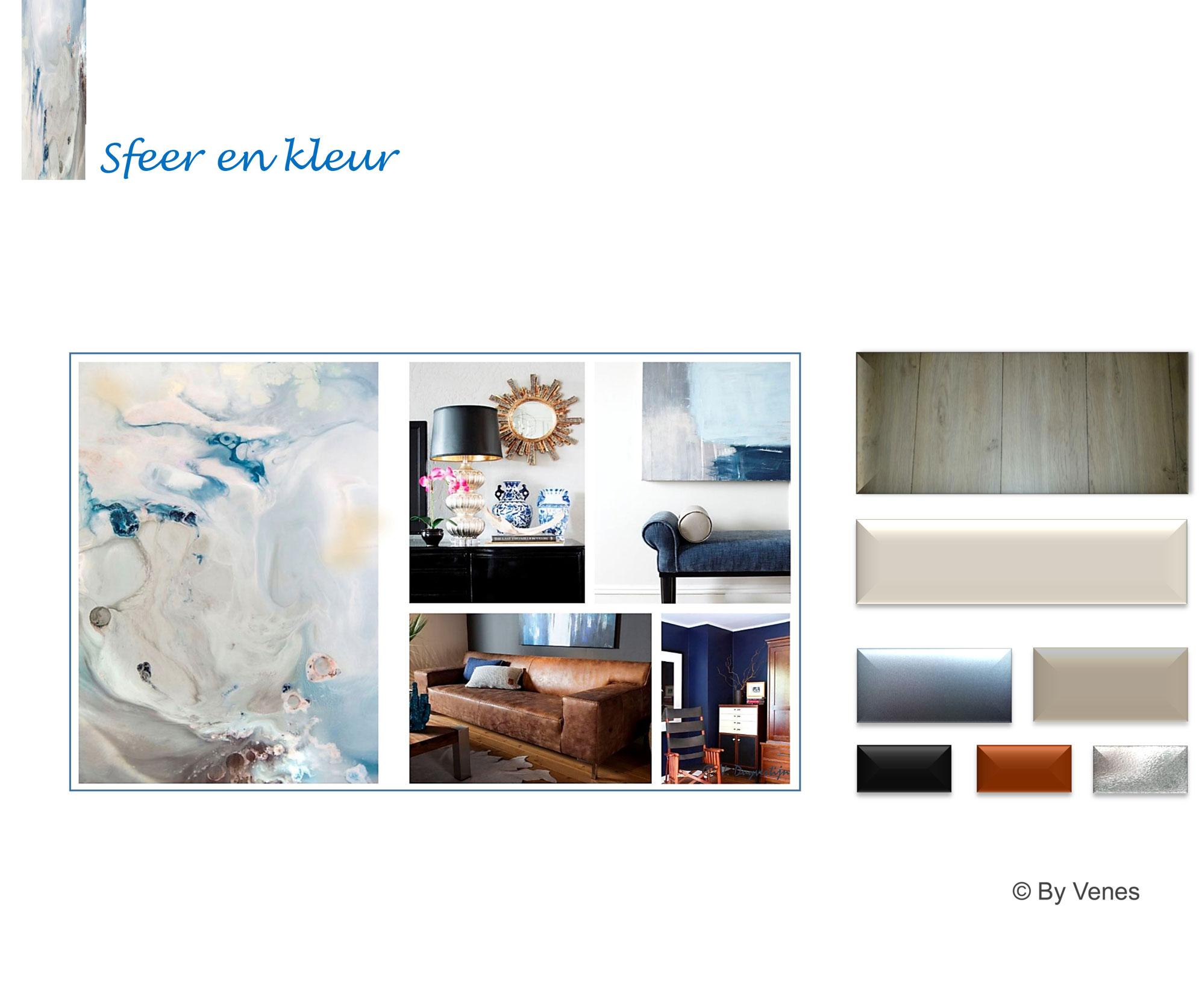 Sfeer-en kleuradvies woonkamer Heerlen-By Venes