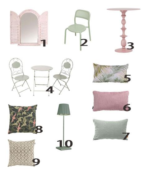 Stijl inspiratie interieur exterieur - meubels en accessoires