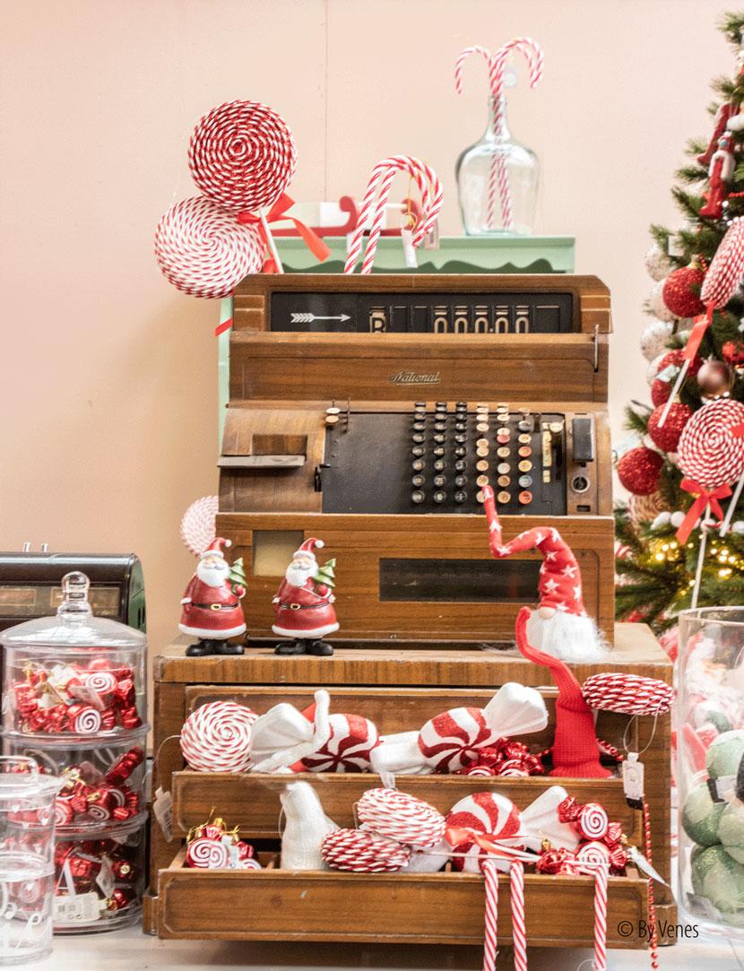 Zuurstok kerststokjes kerst snoep