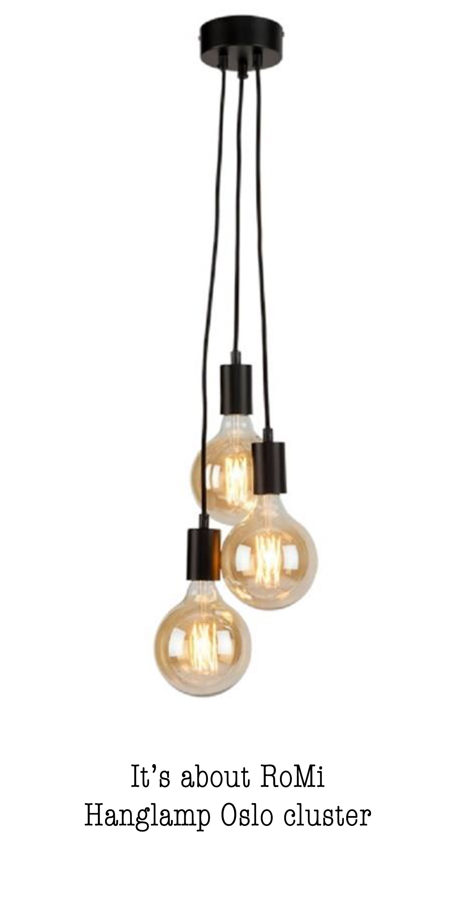 By Venes shop the look Hanglamp Oslo cluster van Its about RoMi