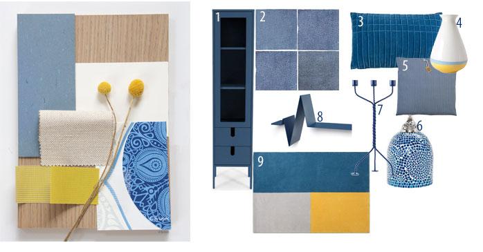 Blauw in je interieur Scandinavisch