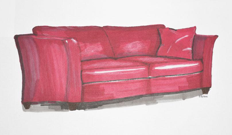 Uitzoeken meubels By Venes
